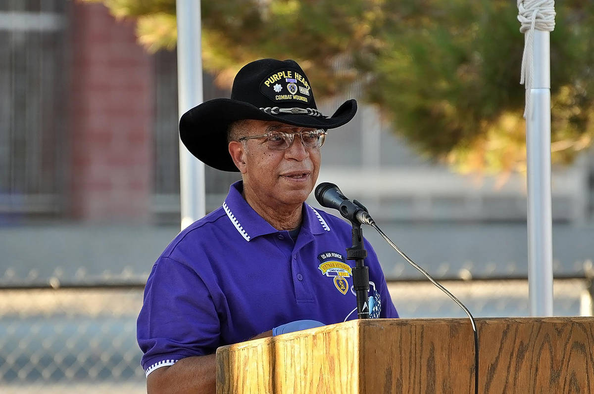 Horace Langford Jr./Pahrump Valley Times Pahrump veteran and Disabled American Veterans Chapte ...
