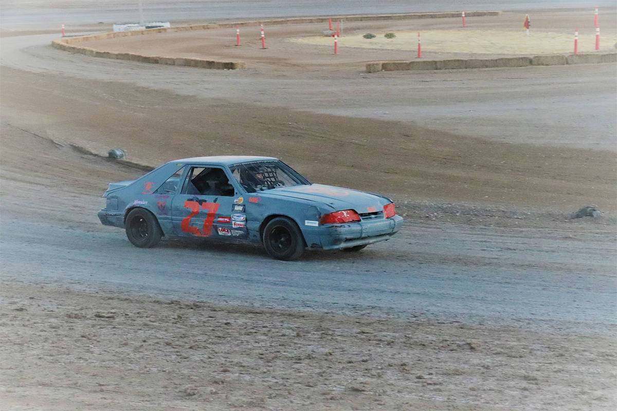 Digital Storm Photography/Special to the Pahrump Valley Times Annaloree Koch in Car 27 on the d ...
