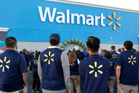Bizuayehu Tesfaye/Las Vegas Review-Journal The Walmart Foundation has granted $300,000 to the ...