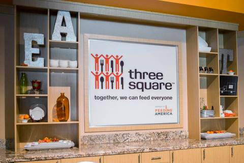 Benjamin Hager Las Vegas Review-Journal Three Square Food Bank on Tuesday, Nov. 13, 2018, in La ...
