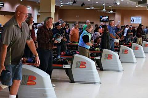 Pahrump Valley Times file Almost 60 bowlers turned out Aug. 29 for the Pahrump Valley Tournamen ...