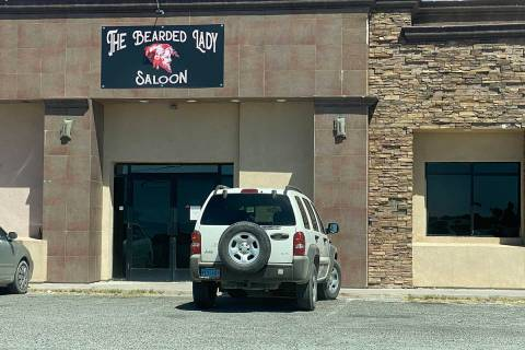 Jeffrey Meehan/Pahrump Valley Times The Bearded Lady Saloon as seen on Sept. 3, 2020. Bars in ...