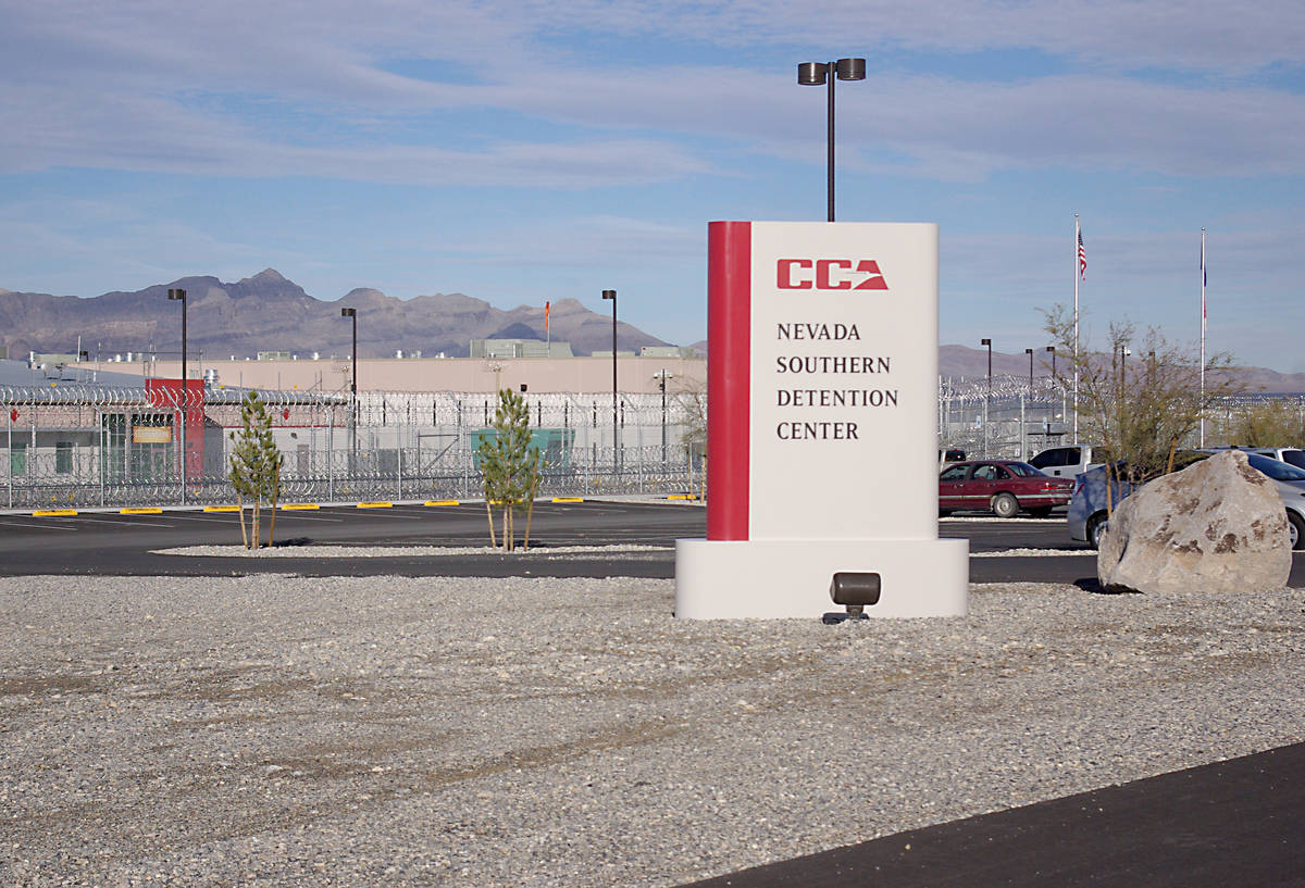 Southern Nevada Detention Center (File photo) Pictured is the Nevada Southern Detention Center. ...