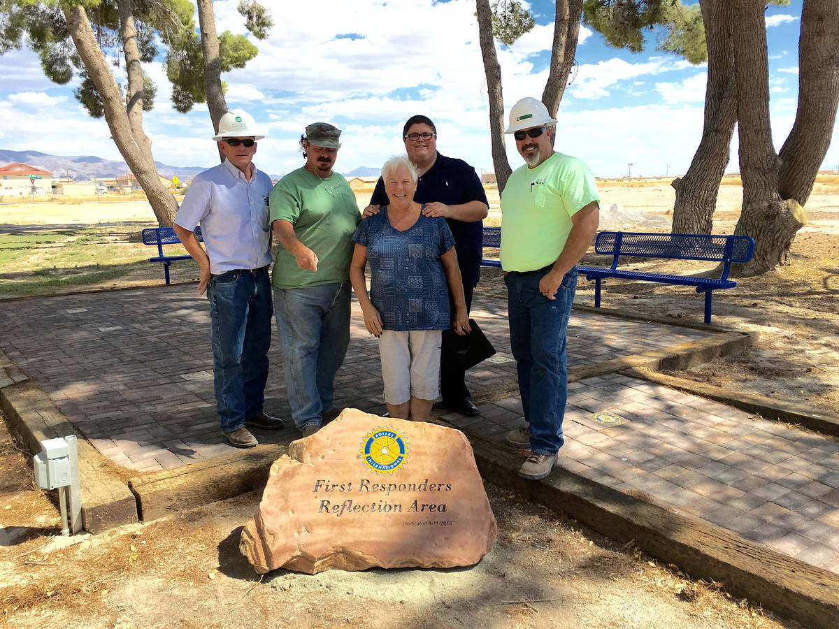 Special to the Pahrump Valley Times As part of its good works in the community, the Rotary Club ...