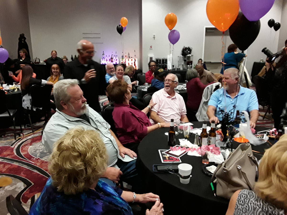 Selwyn Harris/Pahrump Valley Times In this file photo from last year's Cash Extravaganza, Dick ...