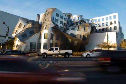 The Cleveland Clinic Lou Ruvo Center for Brain Health in Las Vegas. (Chase Stevens/Las Vegas Re ...