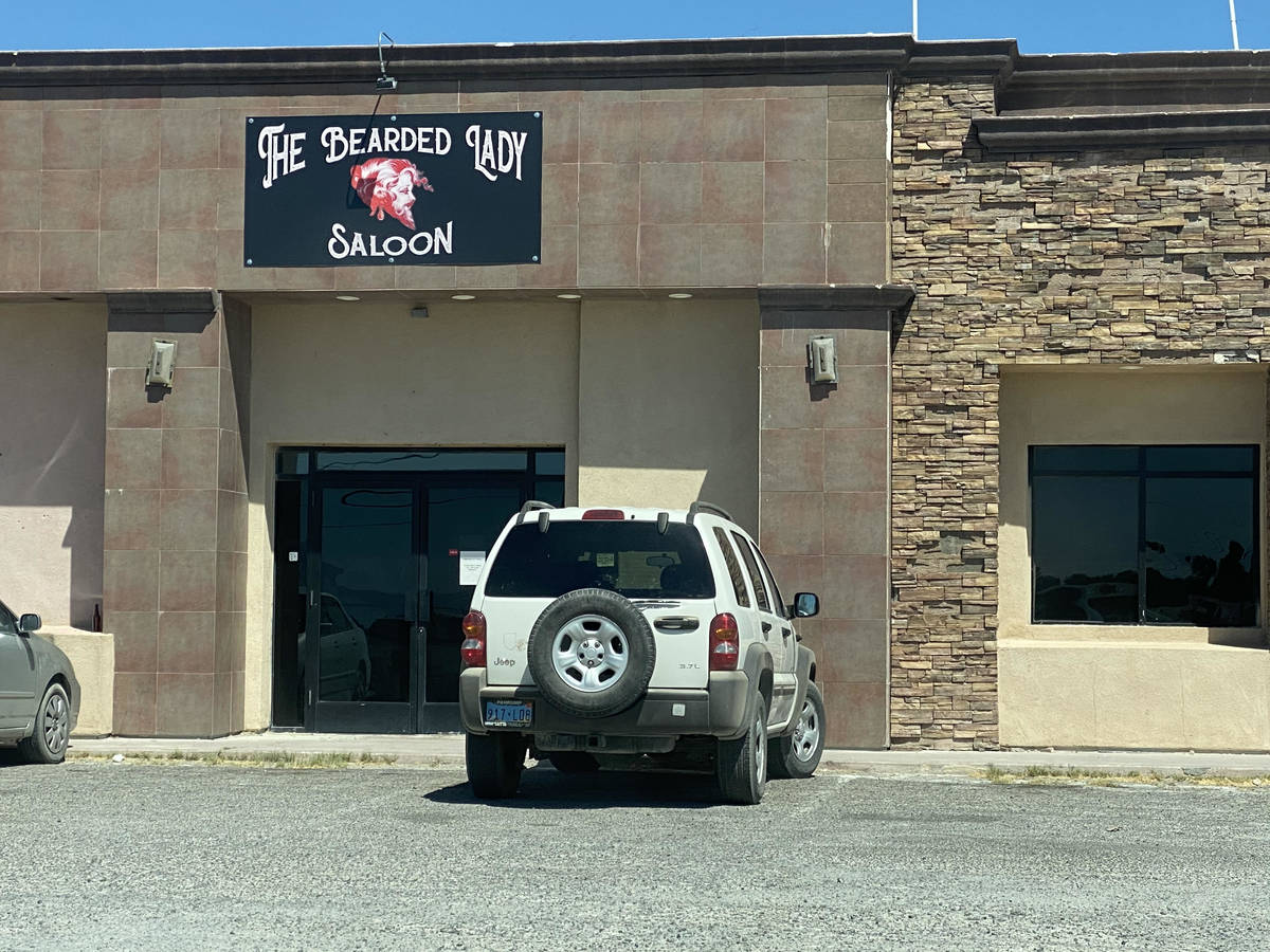 Jeffrey Meehan/Pahrump Valley Times The Bearded Lady Saloon as seen on Sept. 3, 2020.