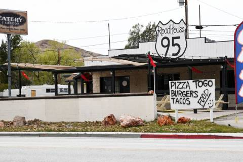 Richard Stephens/Special to the Pahrump Valley Times Beatty is a popular stop for truckers and ...