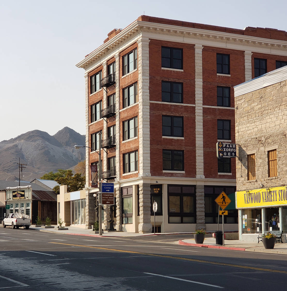 Nancy Whipperman/Tonopah Times The Belvada Hotel is almost ready to open its doors to the publi ...