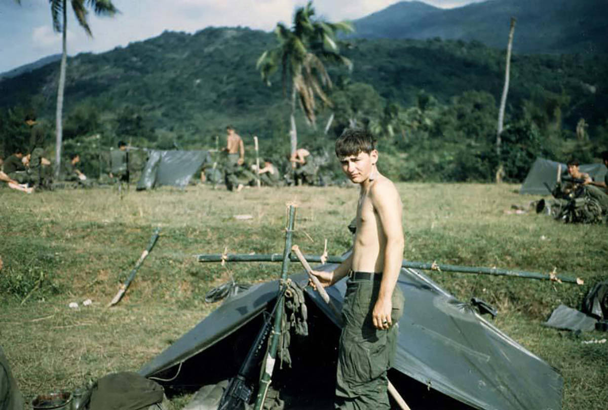 Special to the Pahrump Valley Times During his two tours in Vietnam, Smith served with the 1st ...