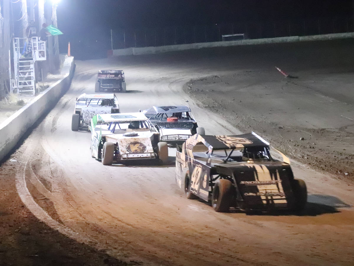 Digital Storm Photography/Special to the Pahrump Valley Times Sport Mod drivers hit the track a ...