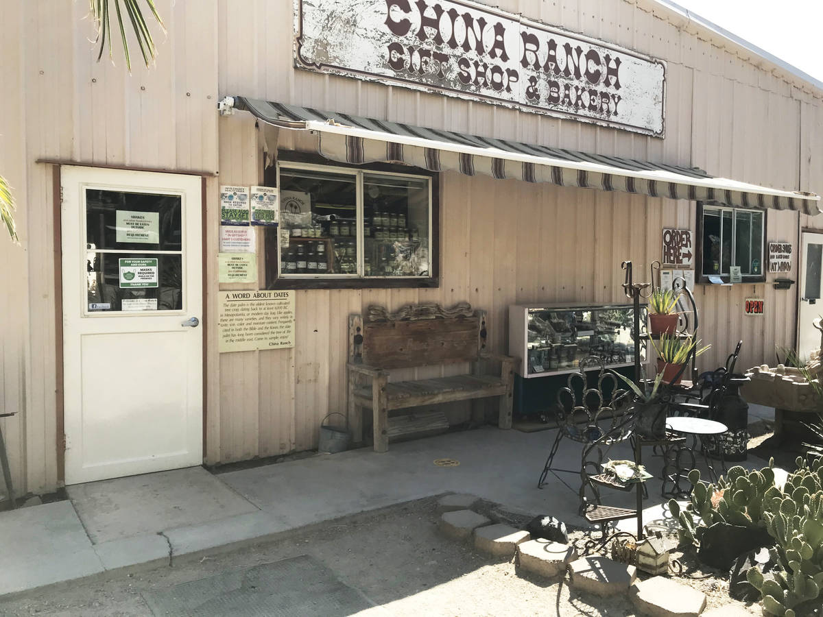 Robin Flinchum/Special to the Pahrump Valley Times Some seating is available to customers of th ...