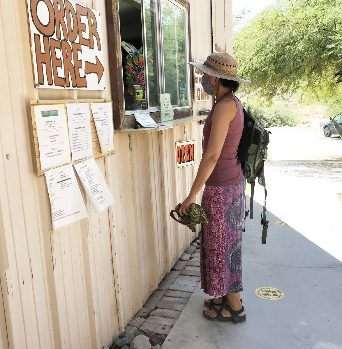 Robin Flinchum/Special to the Pahrump Valley Times The China Ranch's famous date shakes and dat ...