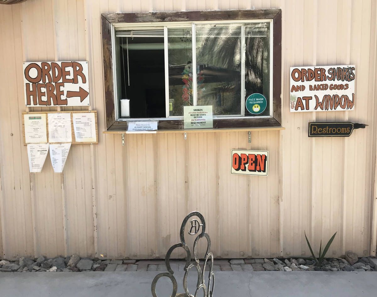 Robin Flinchum/Special to the Pahrump Valley Times The China Ranch menu now includes a dairy-f ...