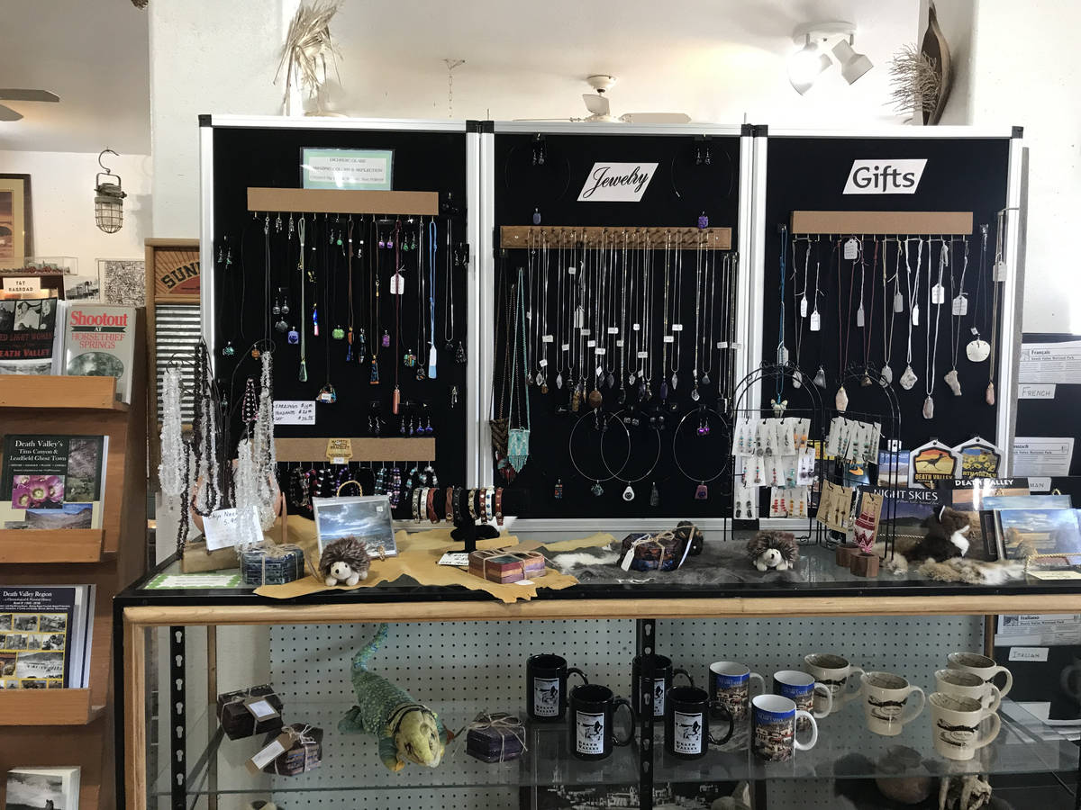 Robin Flinchum/Special to the Pahrump Valley Times The Shoshone Museum which has now reopened, ...