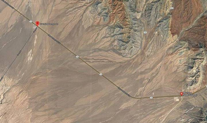 Nevada Department of Transportation Motorists should expect delays along Highway 160, between T ...