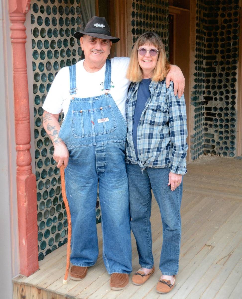Richard Stephens/Special to the Pahrump Valley Times Evan and Molly Thompson pose for a photo a ...