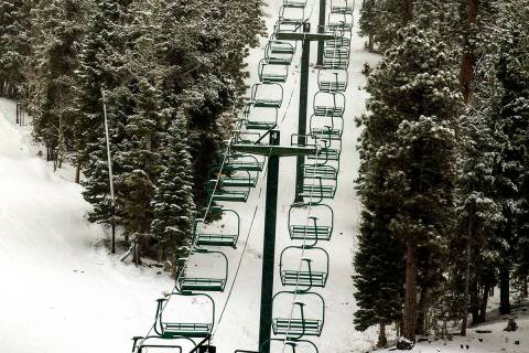 L.E. Baskow/Las Vegas Review-Journal The planned project will update and renovate ski area infr ...