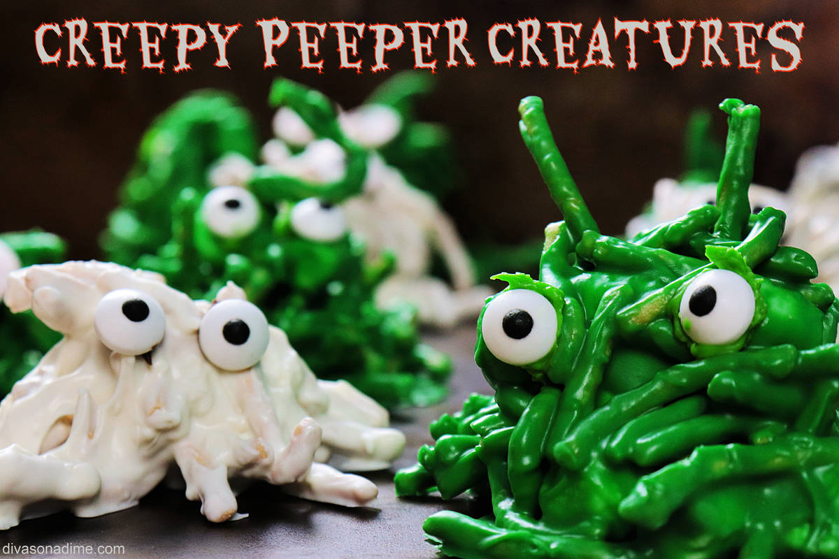 Patti Diamond/Special to the Pahrump Valley Times Here's a ghoulishly delightful recipe that ...