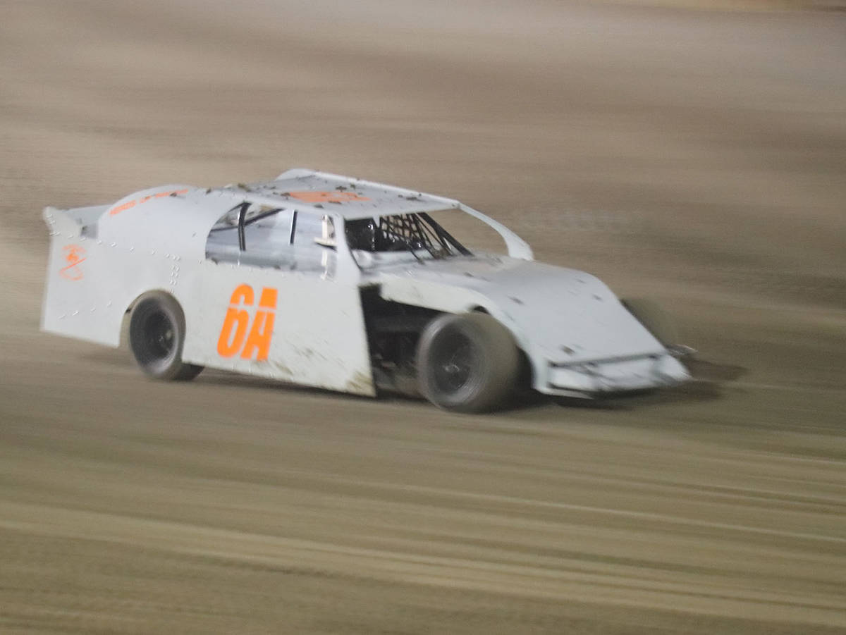 Digital Storm Photography/Special to the Pahrump Valley Times Aries King drives in the Sport Mo ...