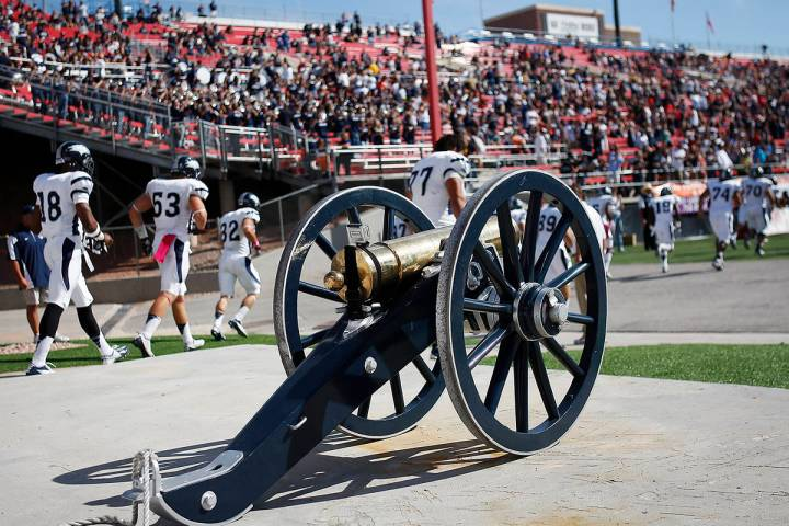 File photo Although UNLV's most recent game was canceled because of COVID-19 concerns within th ...