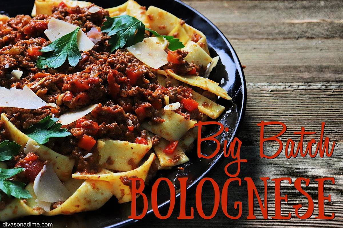Patti Diamond/Special to the Pahrump Valley Times Milk gives Bolognese its distinctive creamine ...