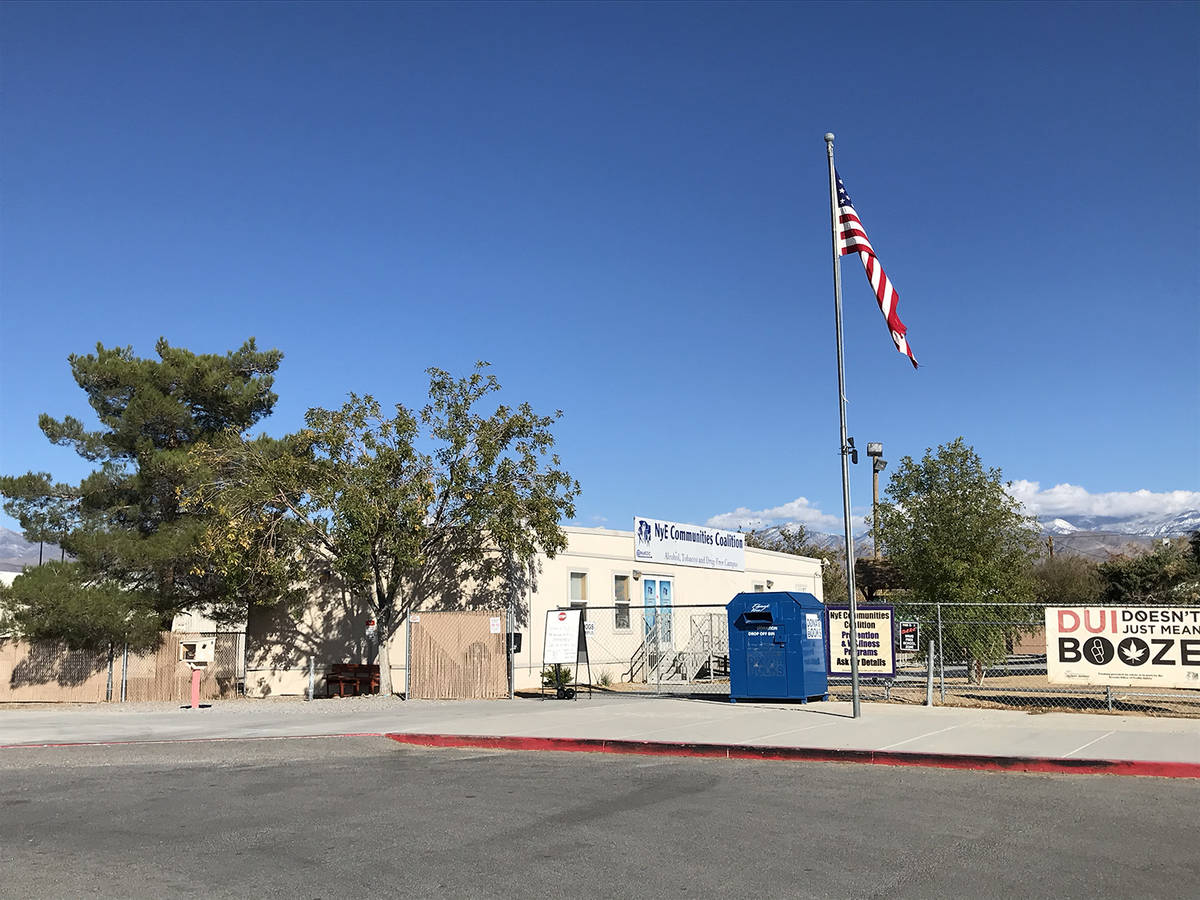 Robin Hebrock/Pahrump Valley Times For this year's community Thanksgiving event, the Pahrump Ho ...
