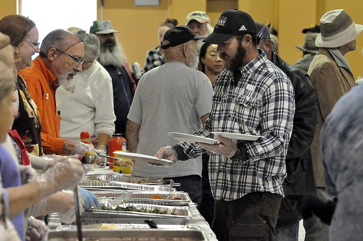 Horace Langford Jr./Pahrump Valley Times This file photo shows the scene at last year's communi ...