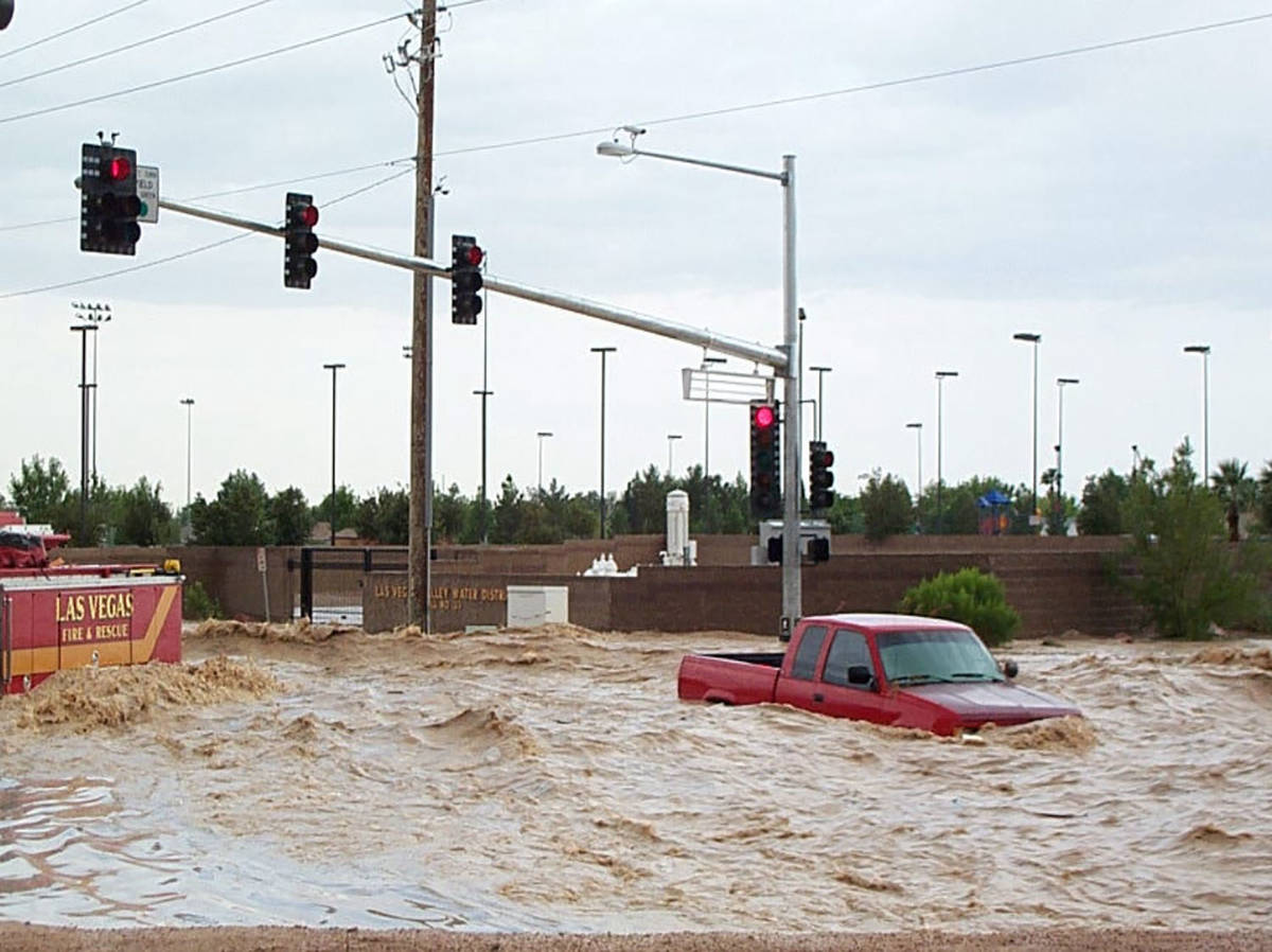Special to the Pahrump Valley Times Since 1955, Nevada has received 18 presidential disaster d ...
