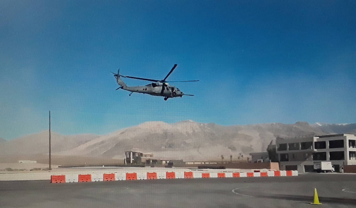 Special to the Pahrump Valley Times The U.S. Air Force will be conducting training operations o ...