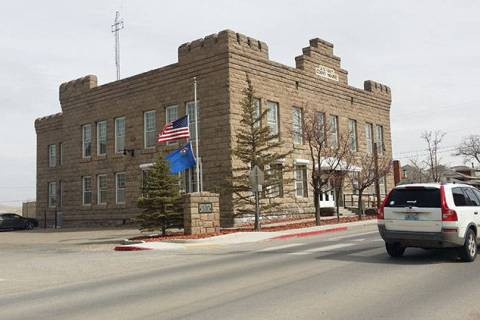 Times-Bonanza & Goldfield News--file The Esmeralda County courthouse in Goldfield as seen in a ...