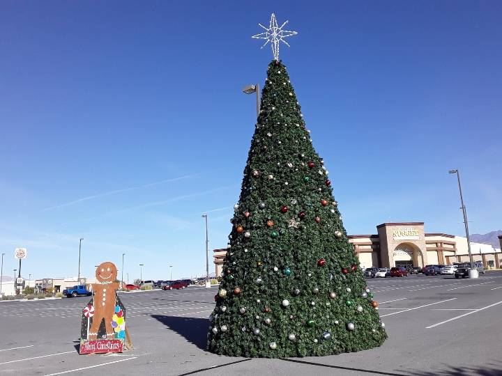 Selwyn Harris/Pahrump Valley Times Valley Electric Association Inc. will stream the lighting o ...