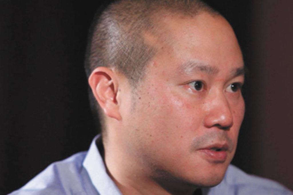 Tony Hsieh (Justin Yurkanin/Las Vegas Review Journal)