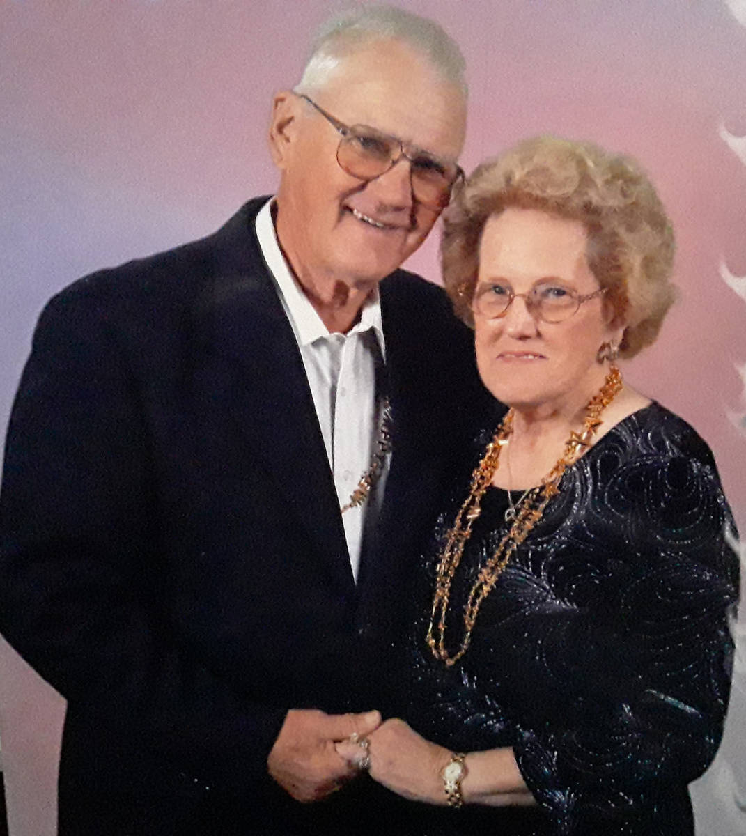 Special to the Pahrump Valley Times Pahrump Valley Mortuary owners Emil and Mildred Janssen sha ...