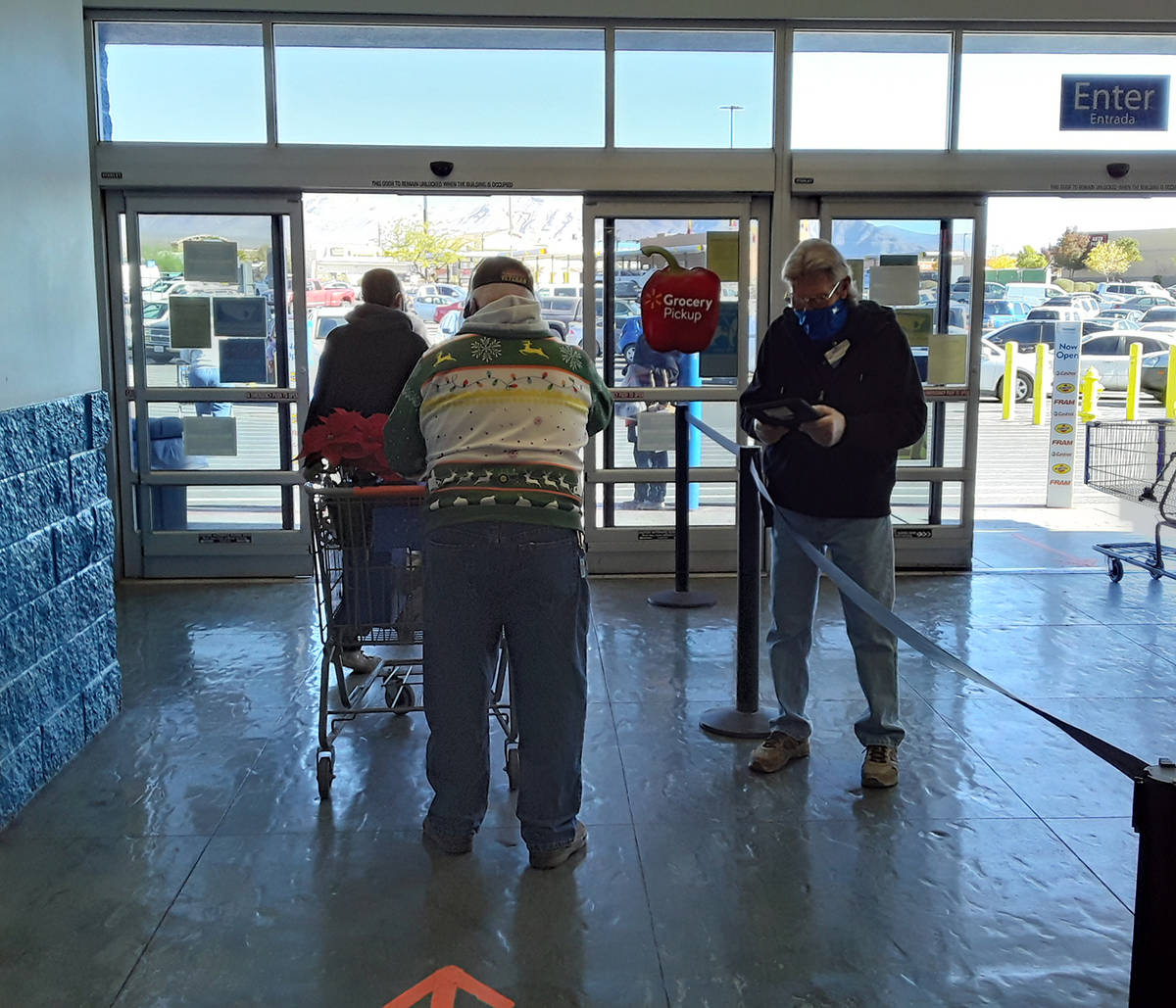 Selwyn Harris/Pahrump Valley Times According to its corporate website, all Walmart stores will ...