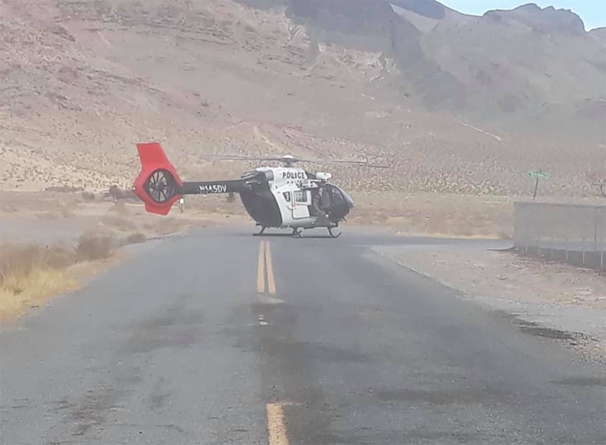Nye County Sheriff's Office Two hikers were safely rescued after becoming stranded while hiking ...