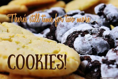 Patti Diamond/Special to the Pahrump Valley Times Each of these cookies have an exceptionally p ...