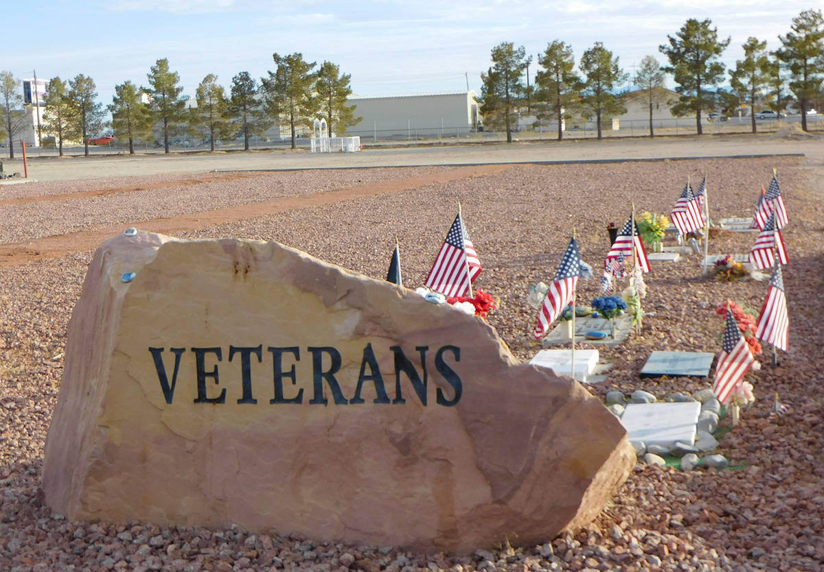 Robin Hebrock/Pahrump Valley Times The Chief Tecopa Cemetery is the final resting place for hun ...