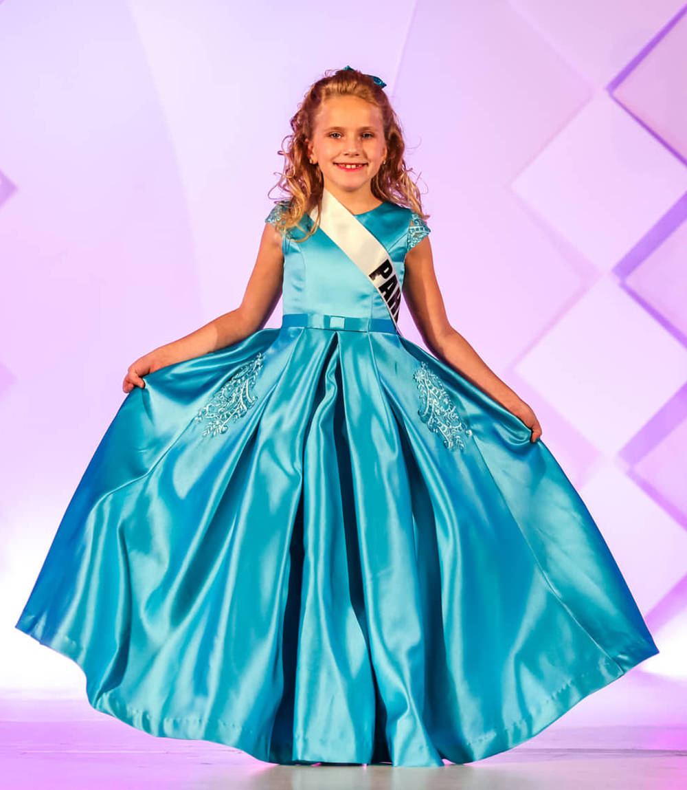 Special to the Pahrump Valley Times Avery Sampson is the 2021 Miss Nevada Princess.