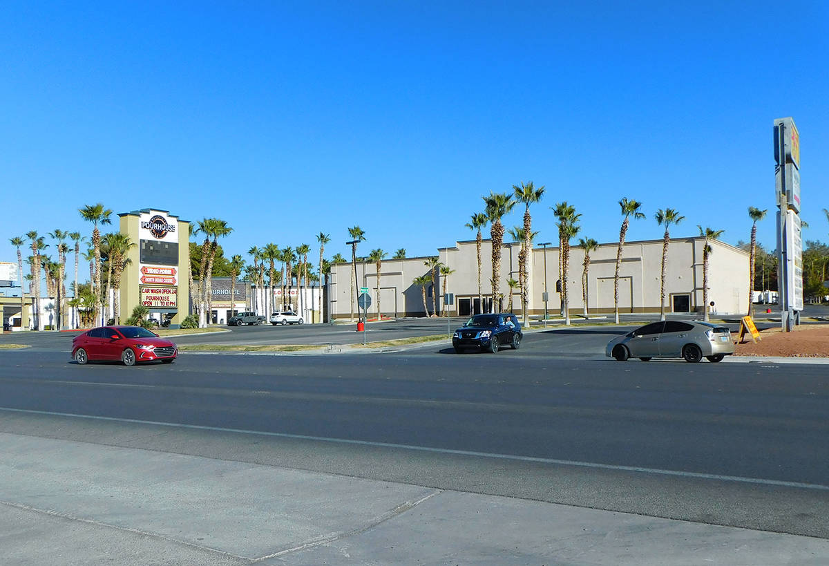 Robin Hebrock/Pahrump Valley Times This photo, taken Wednesday, Dec. 2 shows the intersection o ...