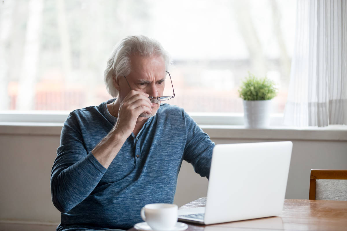 Getty Images The end of the year is a particularly risky time as scammers use things such as Me ...