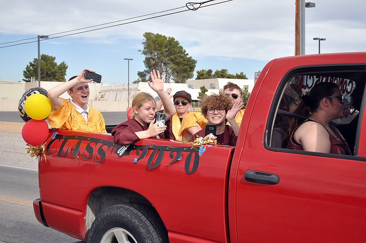 Horace Langford Jr./Pahrump Valley Times On Friday, May 29 PVHS graduates and their families to ...