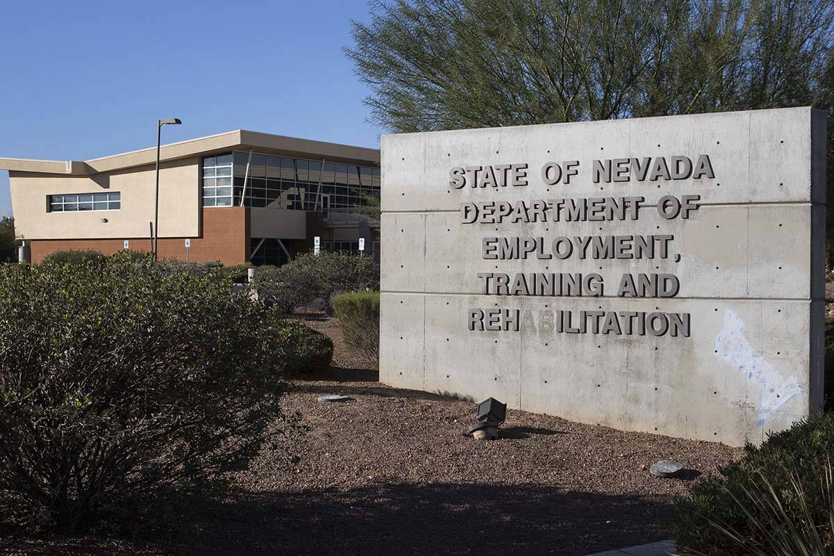 Bizuayehu Tesfaye/Las Vegas Review-Journal The State of Nevada Department of Employment, Traini ...