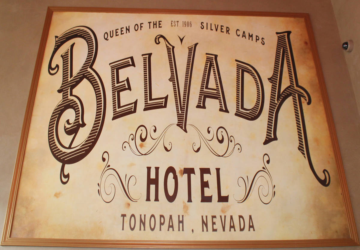 Dominique Taylor/Special to the Pahrump Valley Times The Belvada Hotel is the newest iteration ...