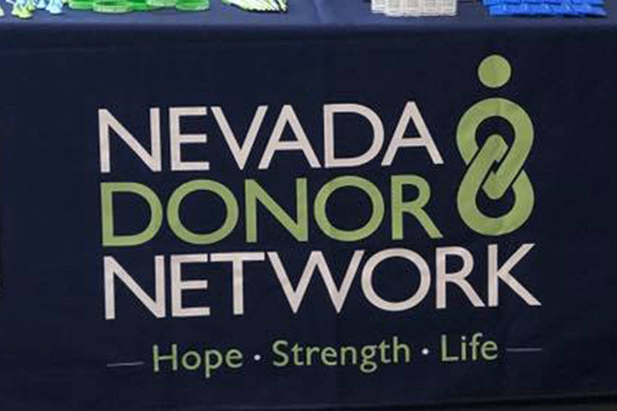 Nevada Donor Network via Facebook NDN reached 83 organ donors per million population served, co ...