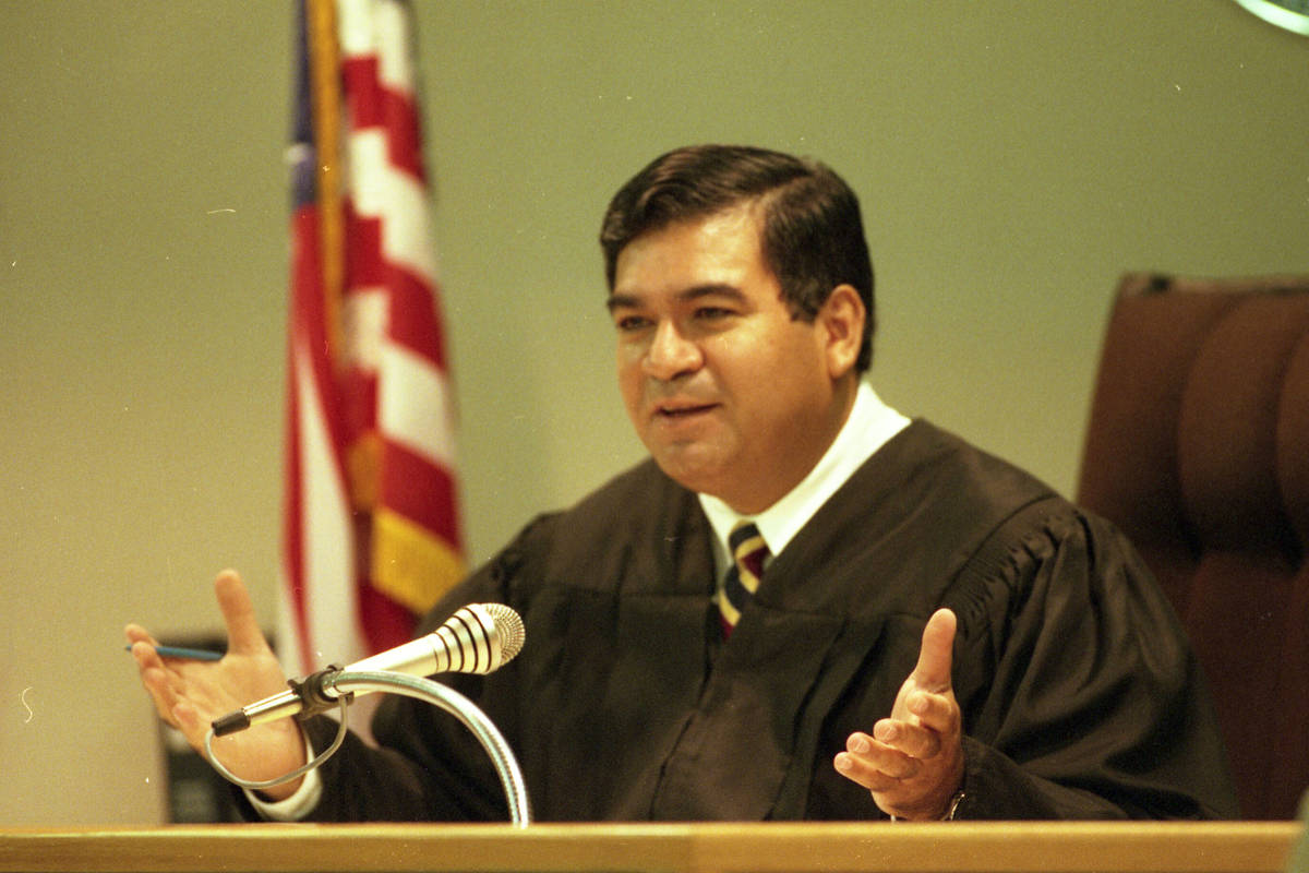 (Las Vegas Review-Journal) Don Chairez speaks during an arraignment in the Clark County Courth ...