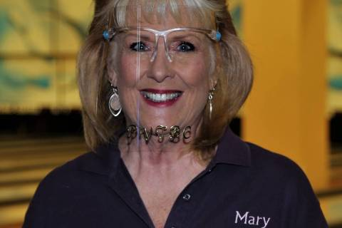Randy Gulley/Special to the Pahrump Valley Times Mary Neese rolled games of 284, 265 and 300 fo ...