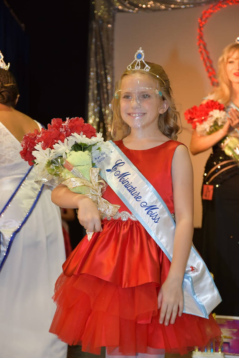 Special to the Pahrump Valley Times Nye County Cinderella Mini Miss Avery Sampson.