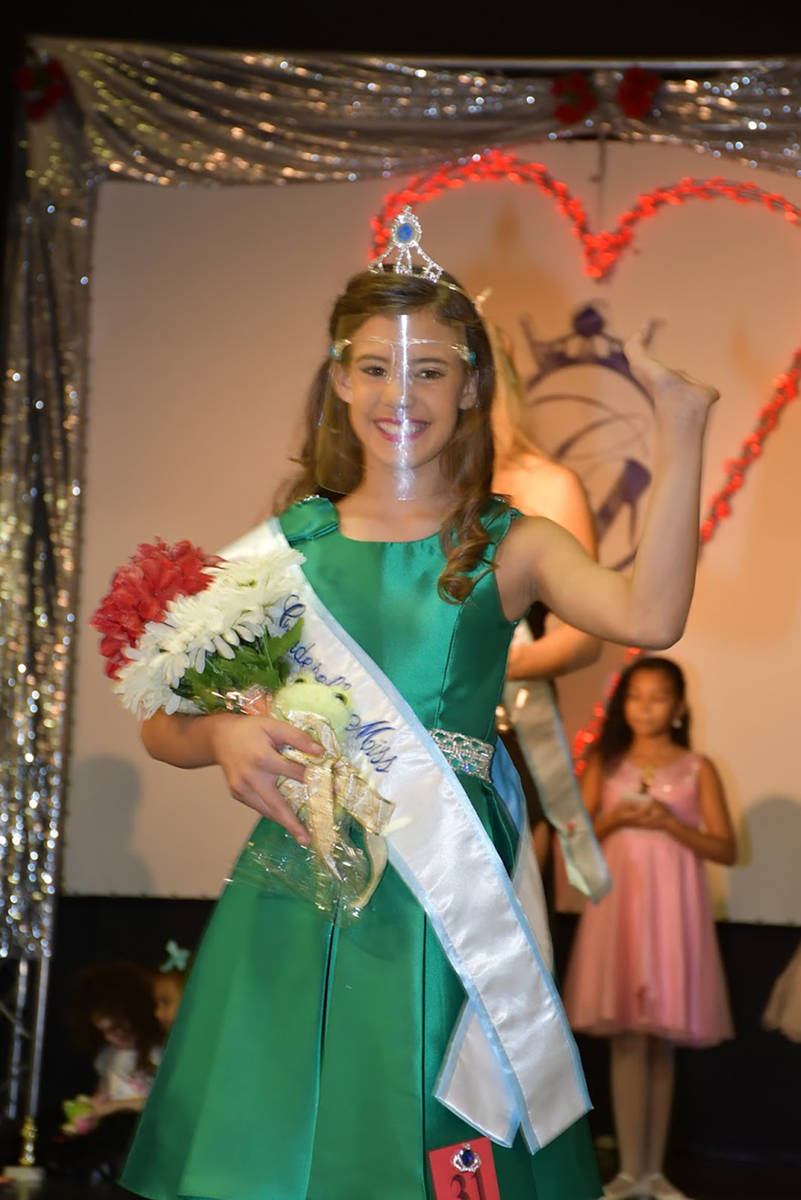 Special to the Pahrump Valley Times Nye County Cinderella Miss Charlize Kruczynski.