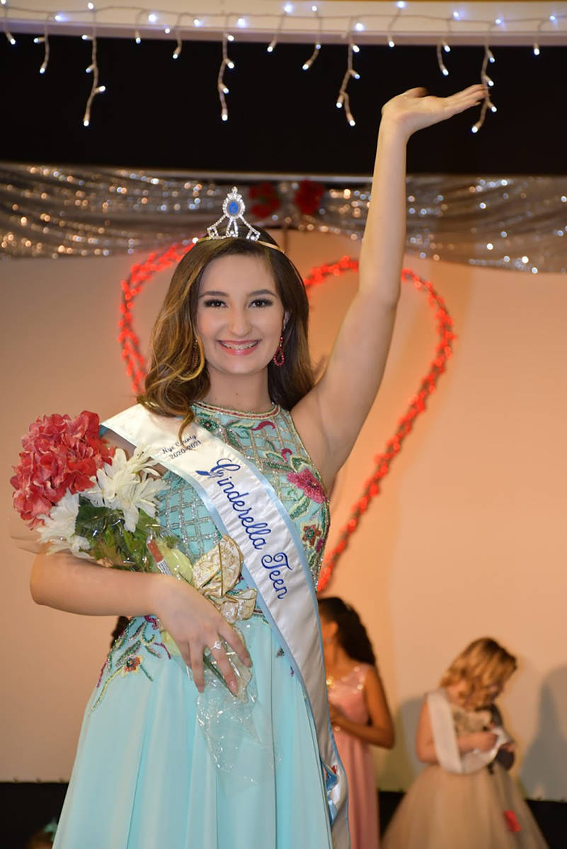 Special to the Pahrump Valley Times Nye County Cinderella Teen Sarah Wertz-Ramos.